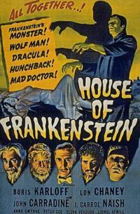 Poster La Maison de Frankenstein 23823