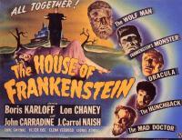 affiche  La Maison de Frankenstein 23824